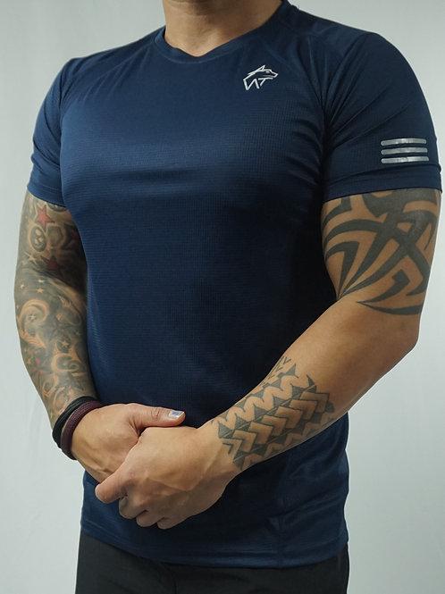 WOLF TITAN Classic Fitness 2 T-Shirt - Blue