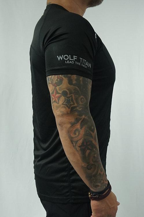 WOLF TITAN Classic Fitness 3 T-Shirt - Black