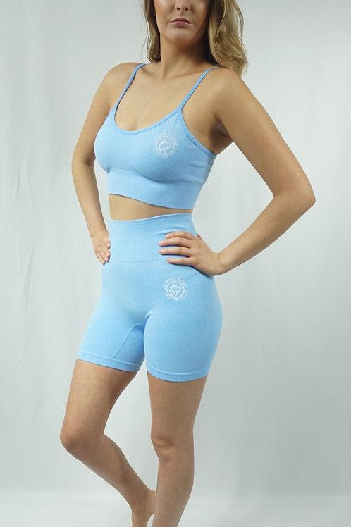 DYNAMICS Workout Shorts Set - Blue