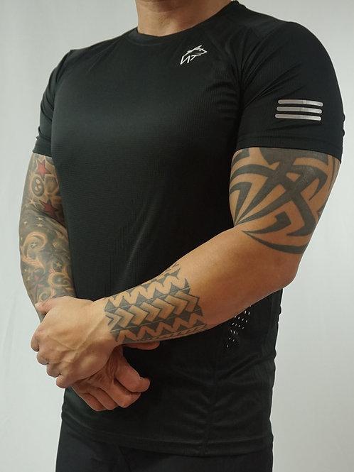 WOLF TITAN Classic Fitness 2 T-Shirt - Black