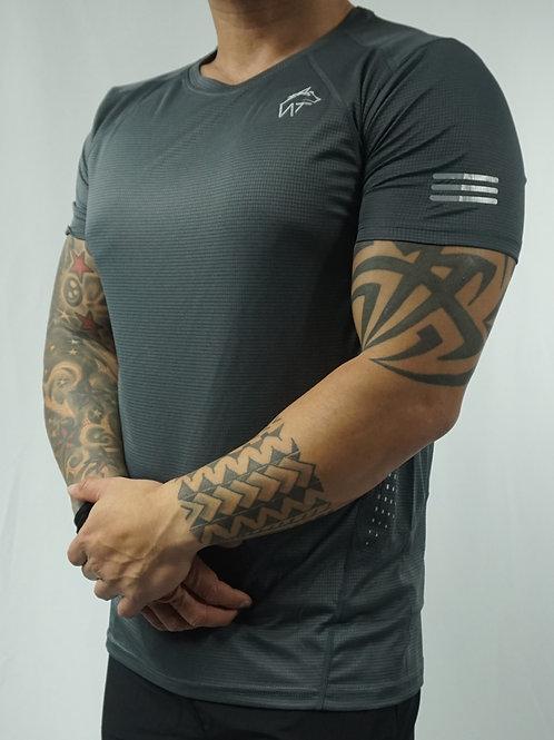 WOLF TITAN Classic Fitness 2 T-Shirt - Grey
