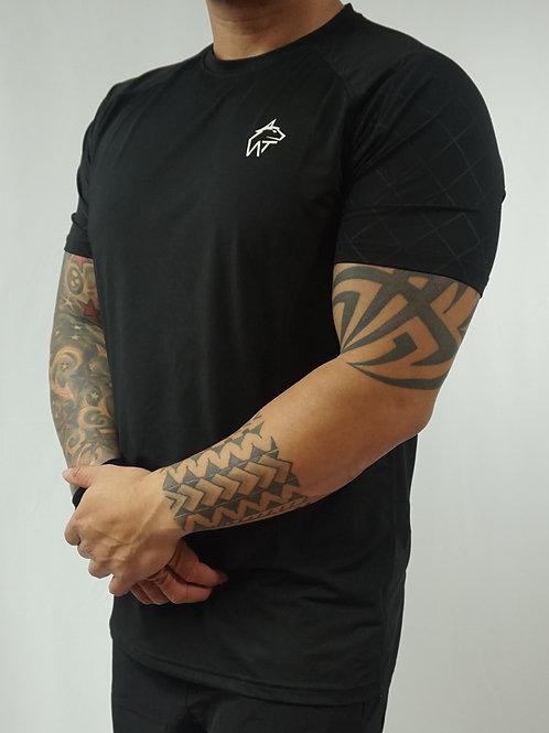 WOLF TITAN Classic Fitness 1 T-Shirt - Black