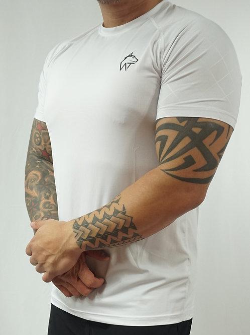 WOLF TITAN Classic Fitness 1 T-Shirt - White