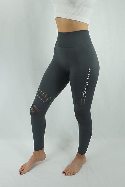 GAMMA Active Mesh Leggings - Dark Grey