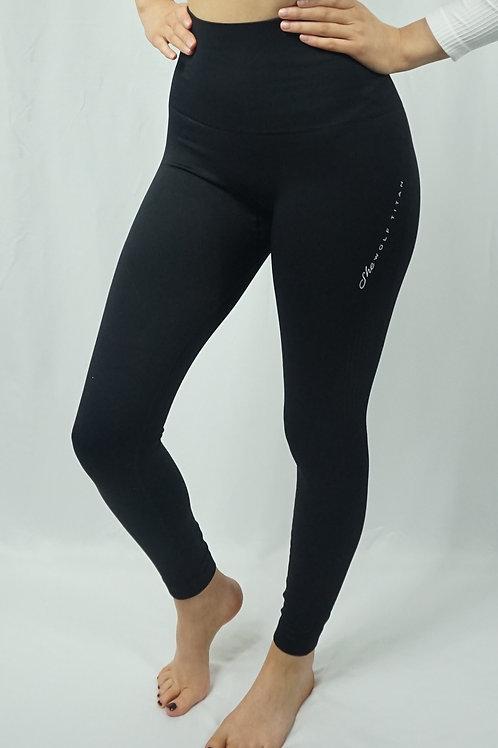 LUNA Seamless Active Leggings - Black