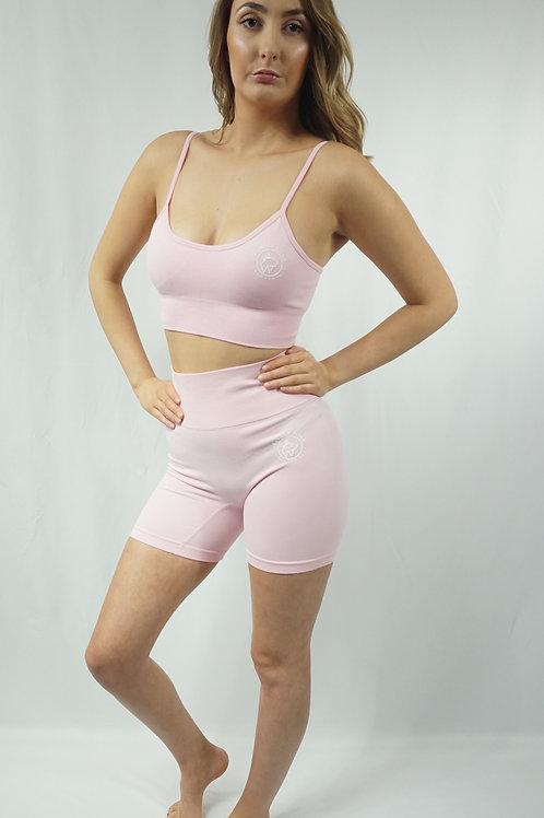 DYNAMICS Workout Shorts Set - Pink