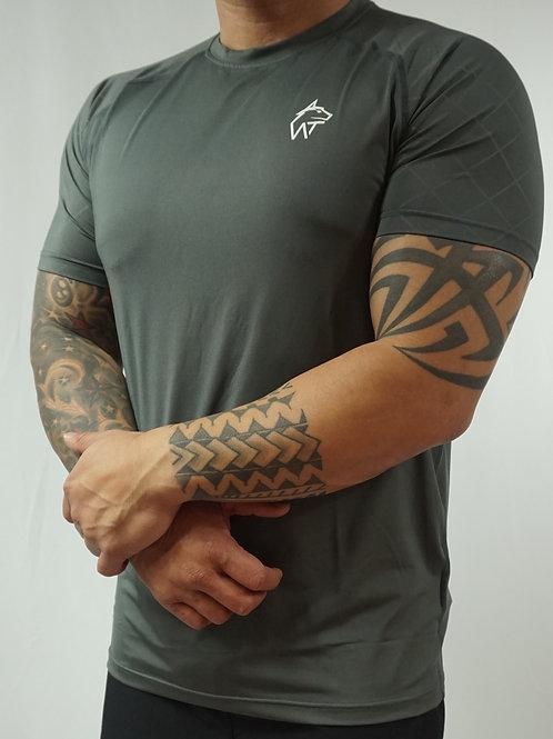 WOLF TITAN Classic Fitness 1 T-Shirt - Grey