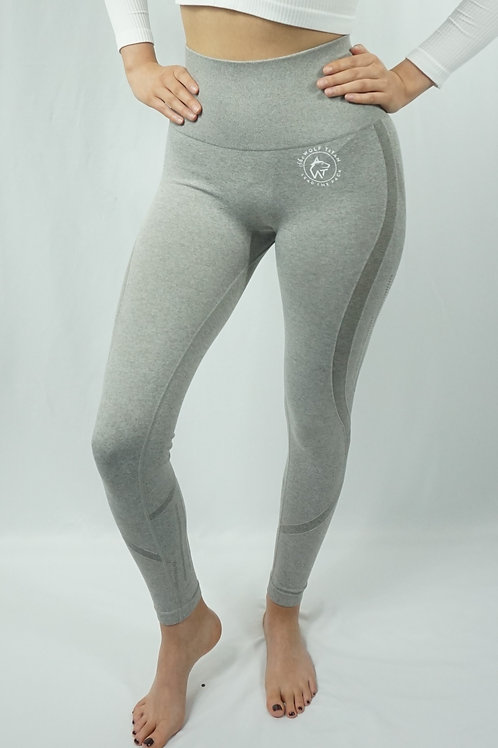 BETA Flat Seamless Active Leggings - Light Grey