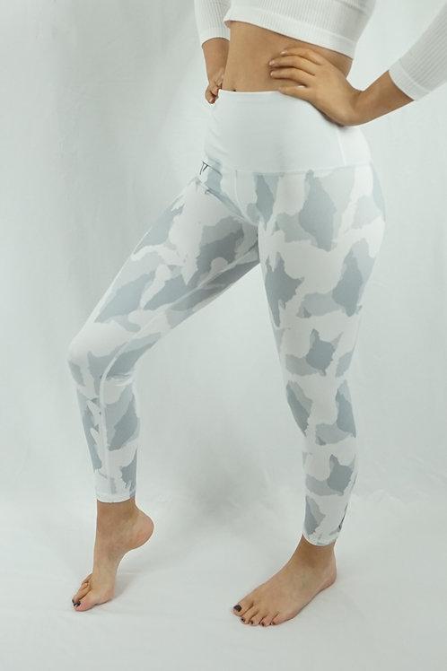 WOLF TITAN Challenger White Camo Leggings