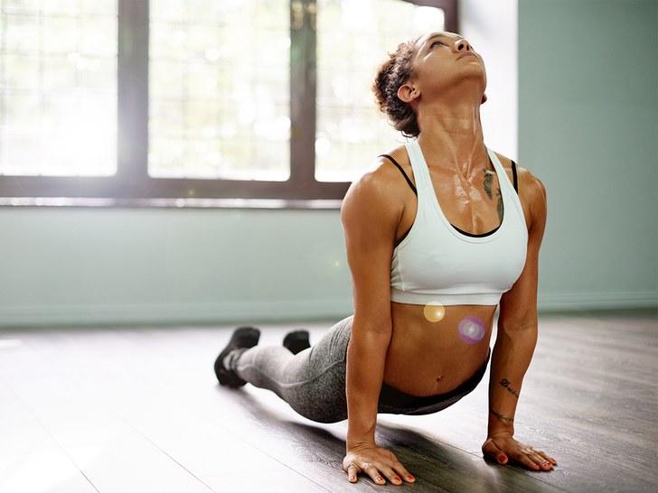 Hot yoga 1