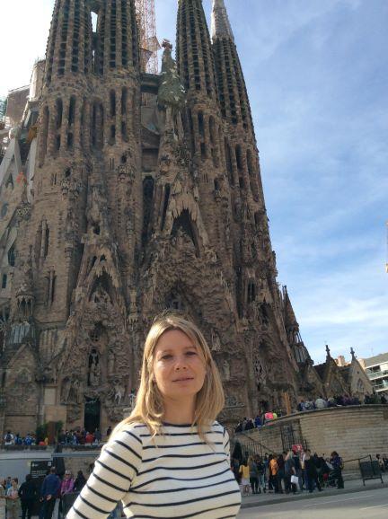Iglesia Sagrada Familia de Barcelona - Arq. Antoni Gaudí - Sensi in Viaggio