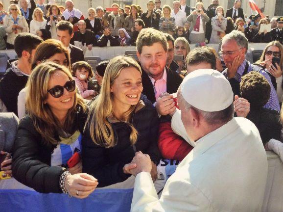 Audiencia papal de los miércoles - Sensi in Viaggio