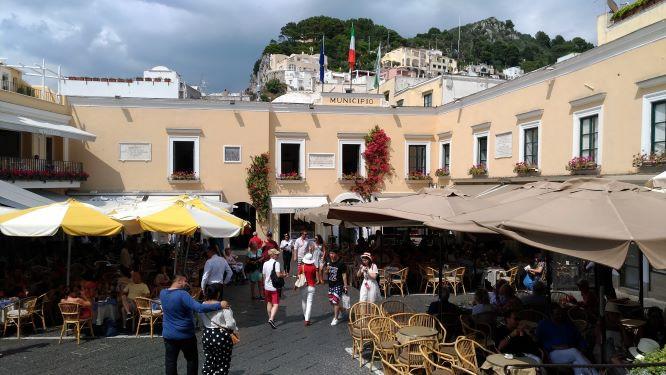 La Piazzetta de Capri en Italia