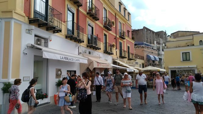 Calles y callejuelas de Capri