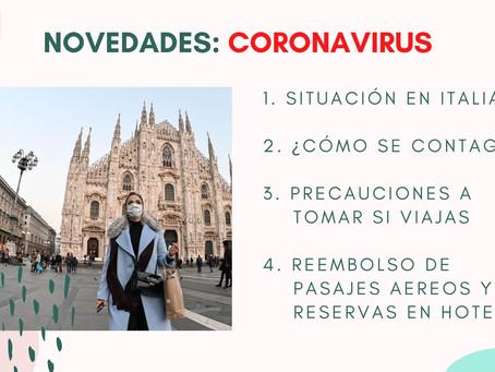 Lo que debes saber del #Coronavirus si viajas a #Italia