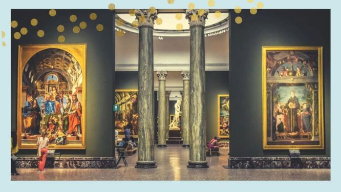 Visita virtual gratuita a la Pinacoteca di Brera-Milán