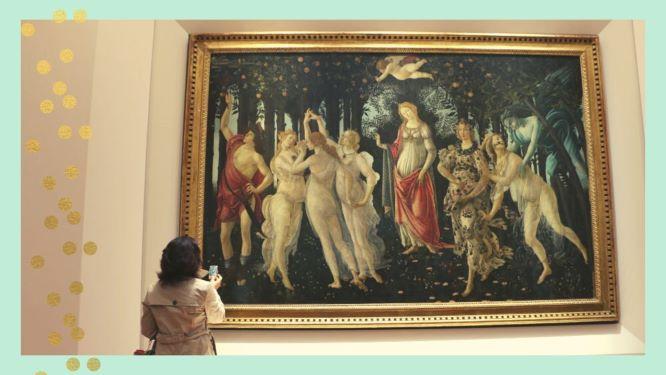 Visita virtual gratuita a la Galleria degli Uffizzi- Florencia