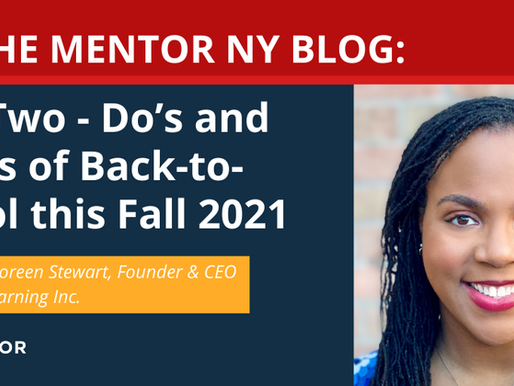 Part Two: Do's and Don'ts of Back-to-School this Fall 2021