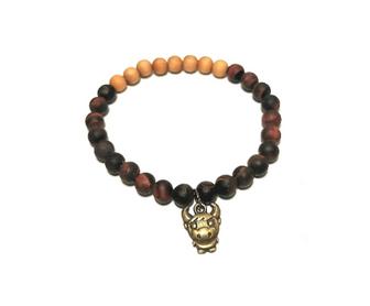 Tigereisen Feng Shui Glücksbringer Armband