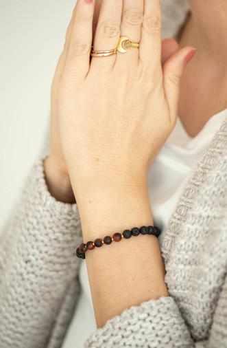 Tigereisen Lava Armband