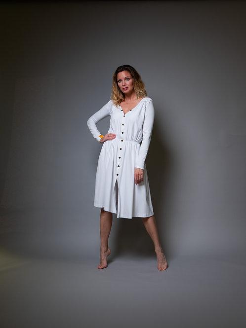 White WUK dress