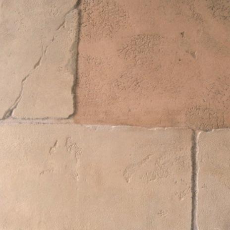 Ciment patiné