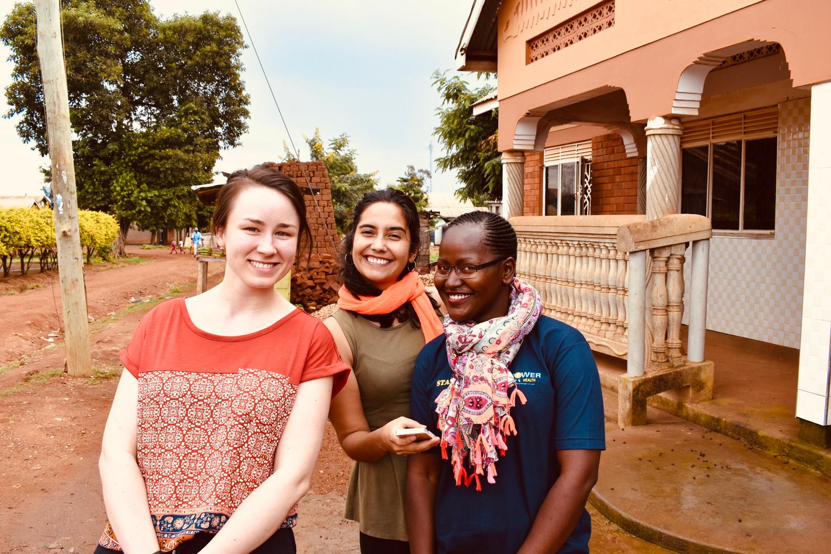 Rachael, Camelia, & Angel