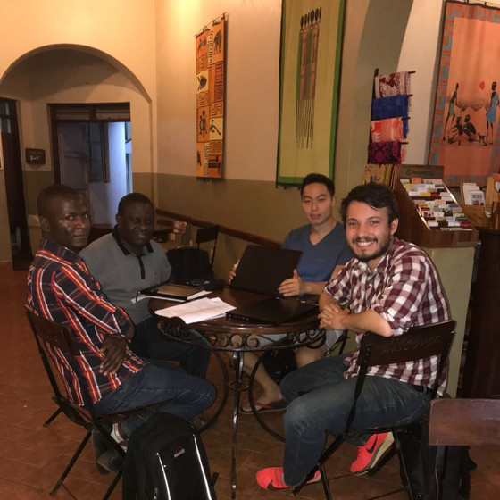 Ibrahim, Dr. Wasiwa, Jae, Scott