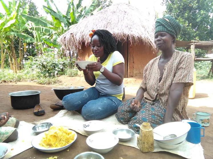Mpunde Village lunch