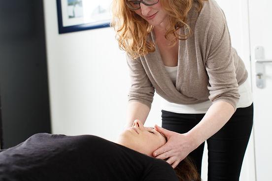 massage Tuina sur le visage