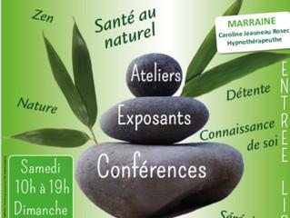 Salon du bien-être de Logonna Daoulas le 7 et 8 avril 2018