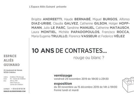 10 ANS DE CONTRASTES...