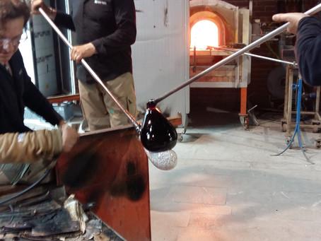 Travail du verre à Murano Venezia