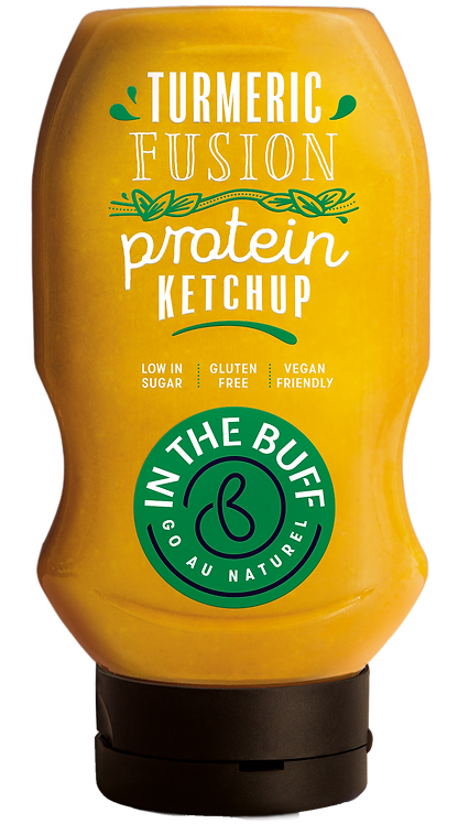 In The Buff Turmeric Fusion Protein Ketchup 452ml