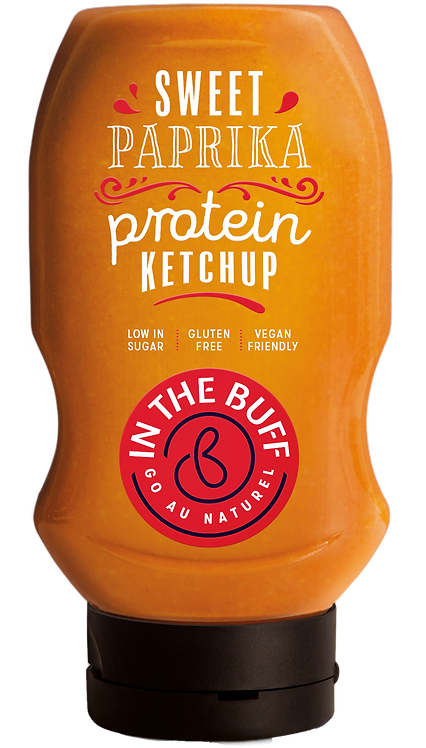 In The Buff Sweet Paprika Protein Ketchup 452ml