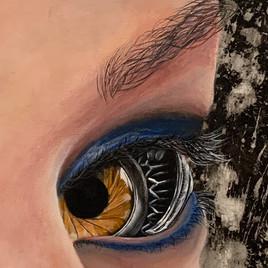 Mechanical Eyes Close Up 2