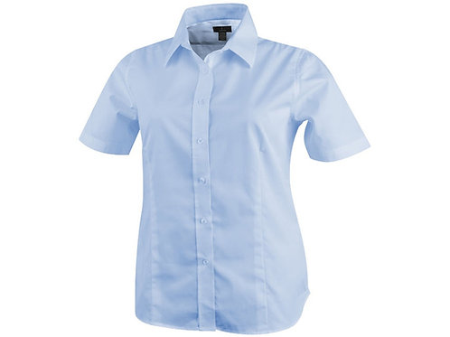 "Рубашка ""Stirling"" женская с коротким рукавом, синий"
