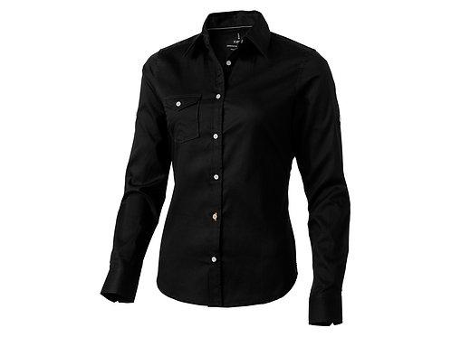 """Рубашка """"Nunavut"""" женская с длинным рукавом, черный"""