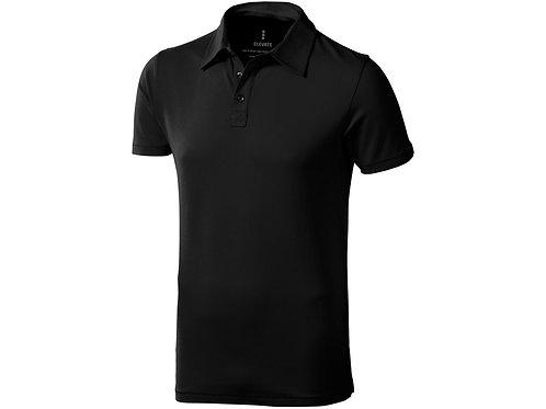 """Рубашка поло """"Markham"""" мужская, антрацит/черный"""
