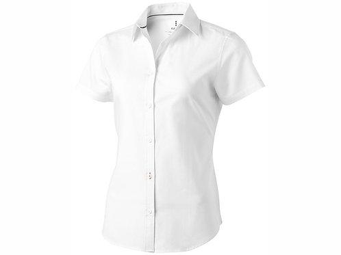 "Рубашка ""Manitoba"" женская с коротким рукавом, белый"