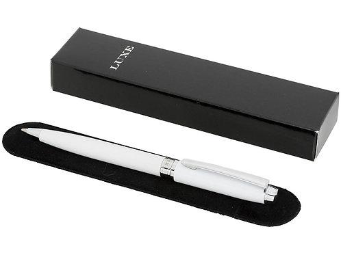 Ручка металлическая шариковая «Aphelion», белый/серебристый