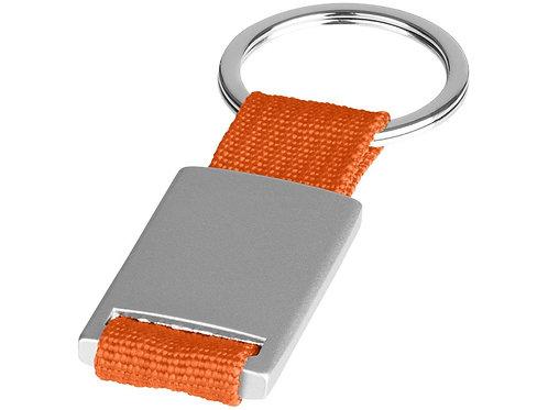 Брелок Alvaro, серебристый/оранжевый