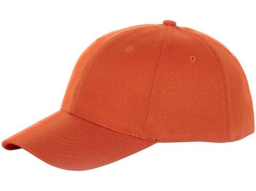 """Бейсболка """"Bryson"""", 6 панелей, оранжевый"""