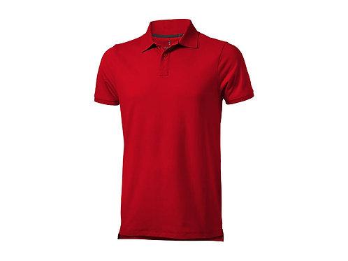 """Рубашка поло """"Yukon"""" мужская, красный"""