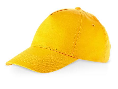 """Бейсболка """"Memphis C"""" 5-ти панельная, золотисто-желтый"""