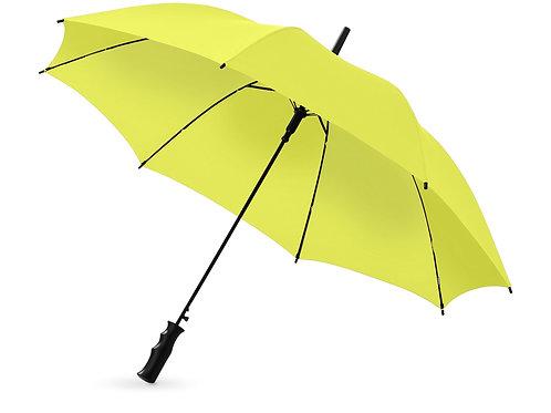 """Зонт Barry 23"""" полуавтоматический, неоново-зеленый"""