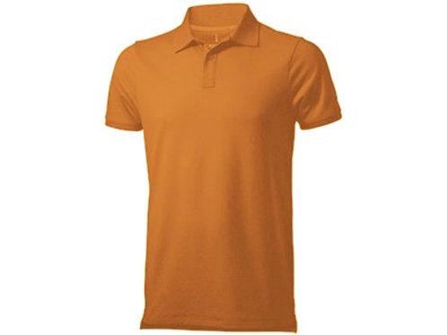"Рубашка поло ""Yukon"" мужская, оранжевый"