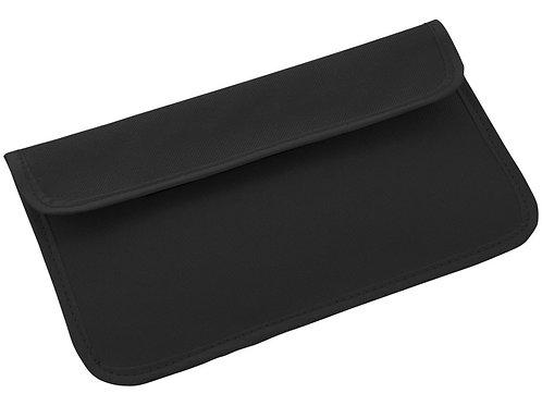 RFID блокер сигнала и футляр для телефона, черный