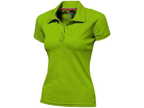 """Рубашка поло """"Game"""" женская, зеленое яблоко"""