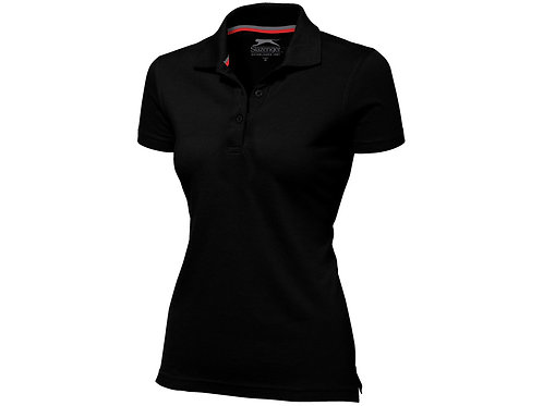 """Рубашка поло """"Advantage"""" женская, черный"""
